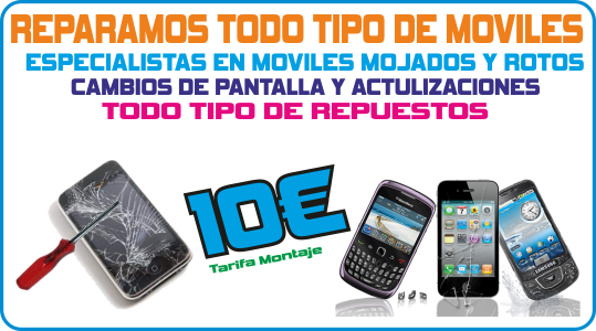 Reparacion y repuestos moviles